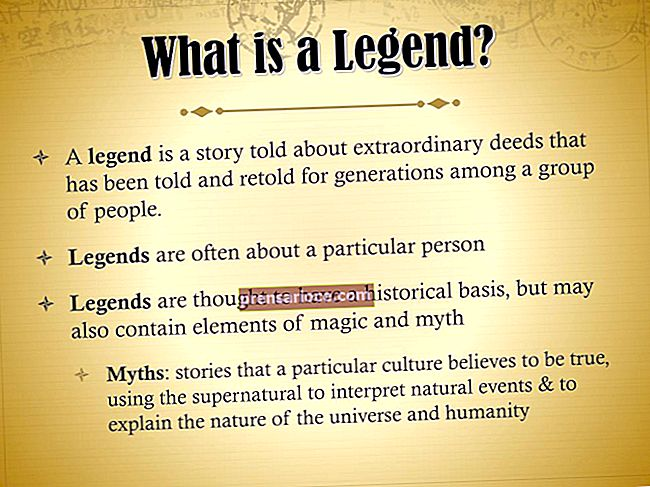 Cos'è una leggenda in PowerPoint?