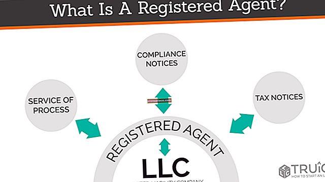 Qual è l'agente registrato di una LLC?