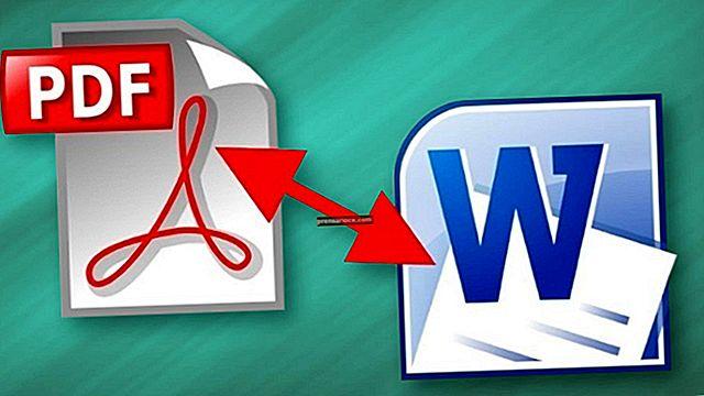 Come convertire un modulo PDF in un modello Word