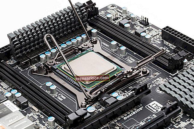 Descrizione di una CPU