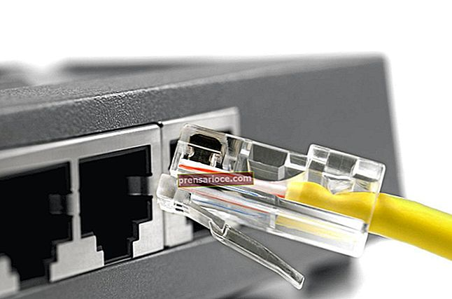 Che cos'è una porta di uplink su un router?