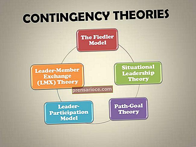 Teoria dell'organizzazione della contingenza