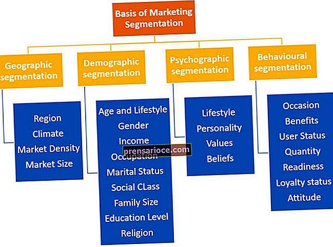 Quali sono le basi della segmentazione dei mercati di consumo?